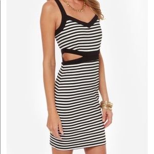 Jack by BB Dakota Mac striped dress